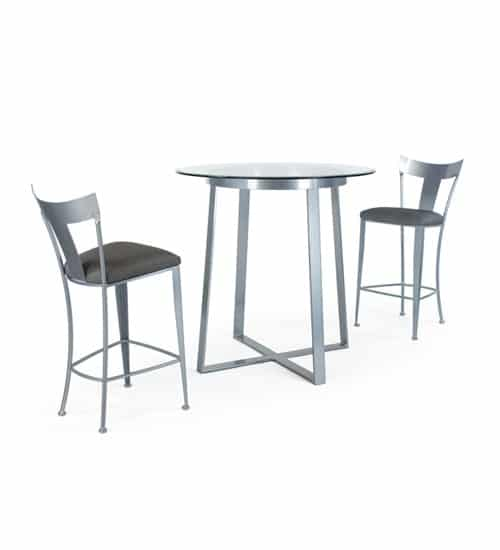 Terrific Tribecca Johnston Casuals High Dining Set Barstools Dinettes Alphanode Cool Chair Designs And Ideas Alphanodeonline
