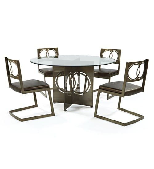 6333 Round Johnston Casuals Dining Set Barstools Amp Dinettes