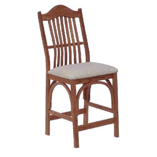 upholstered amish side chair