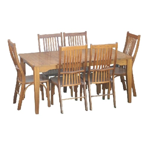 Winchester 6 Seat Dining Set Barstools Amp Dinettes