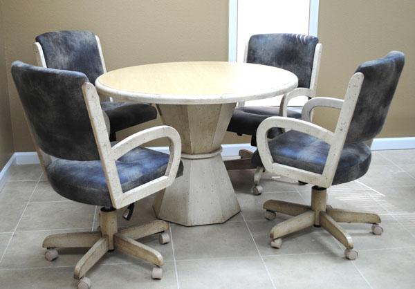 260 Tobias Designs Round Pedestal Table Barstools Amp Dinettes