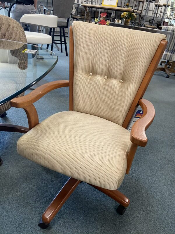 Caster Dining Chair at Barstools & Dinettes
