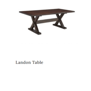 landon amish table